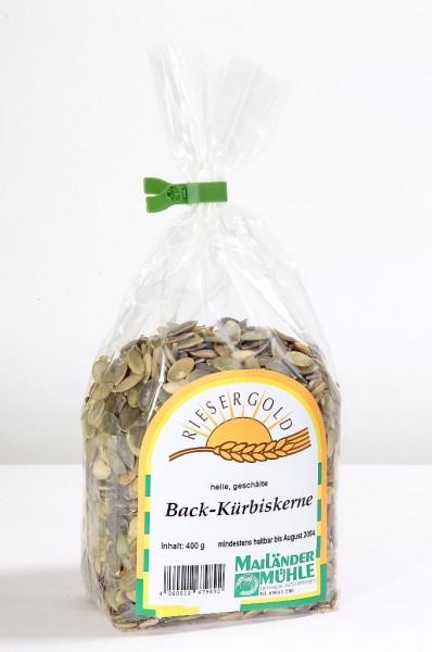 Back Kürbiskerne (hell) 400 g