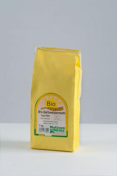 Bio Gelbweizenmehl Type 550 1 kg