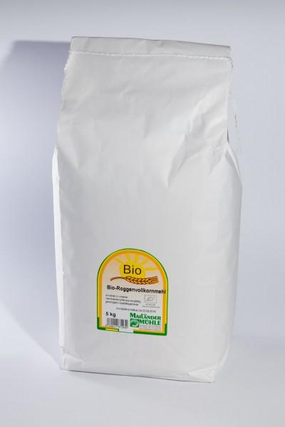 Bio Roggenvollkornmehl 5 kg