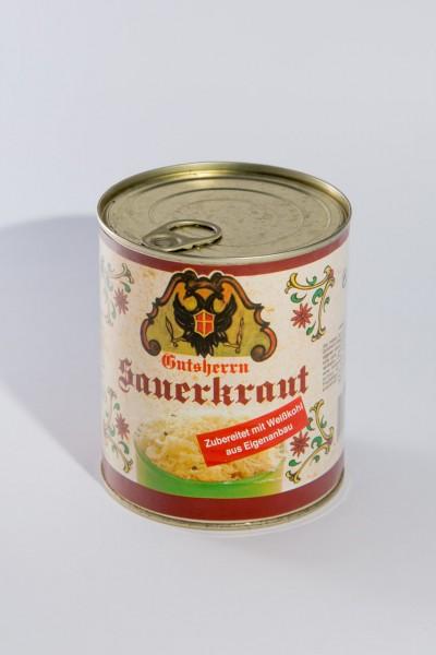 Gutsherrn Sauerkraut 800 g