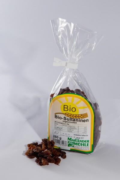 Bio Sultaninen, ungeschwefelt 250 g