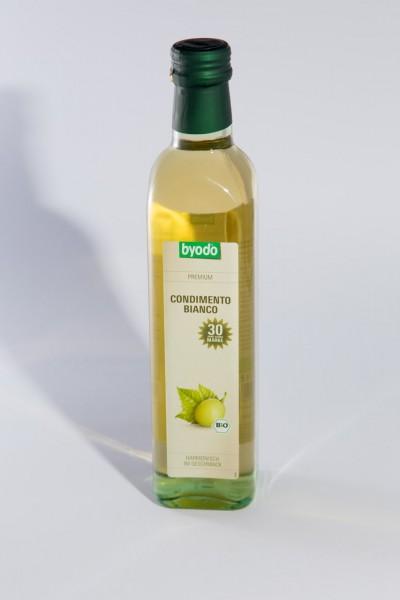 Bio Balsamicoessig weiß 0,5 l
