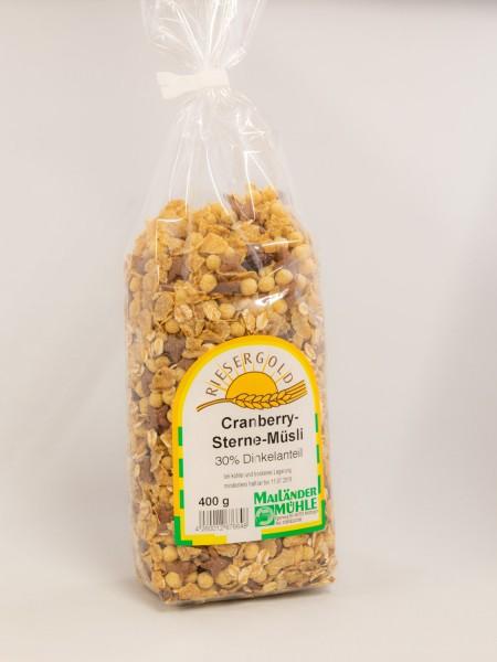 Cranberry-Sterne-Müsli 400 g