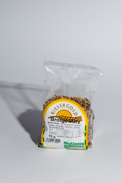 Brotgewürz, ganz 75 g