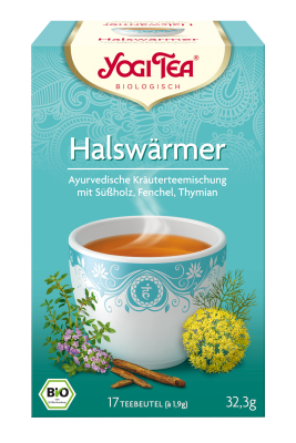 Yogi-Tee Halswärmer-Tee öko Aufgussbeutel 17 Stück