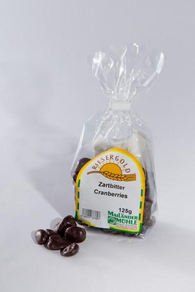 Schoko-Cranberries in Zartbitterschokolade 125g