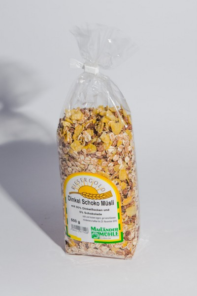 Dinkel-Schoko-Müsli 500 g