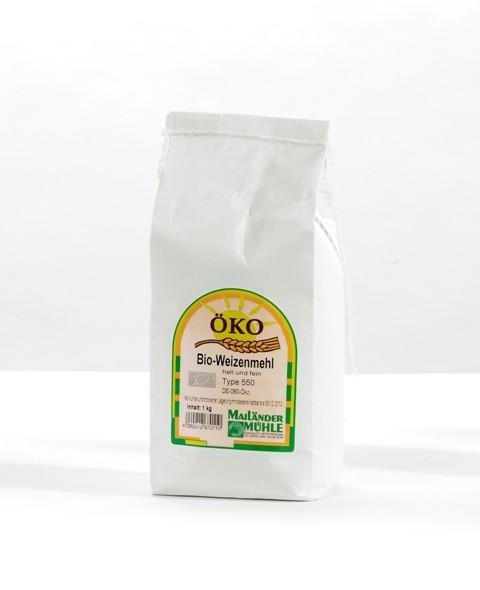 Bio Weizenvollkornmehl 1 kg
