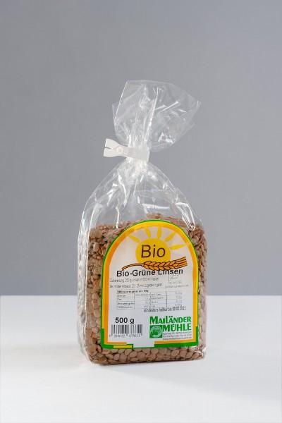 Bio Grüne Linsen 500 g