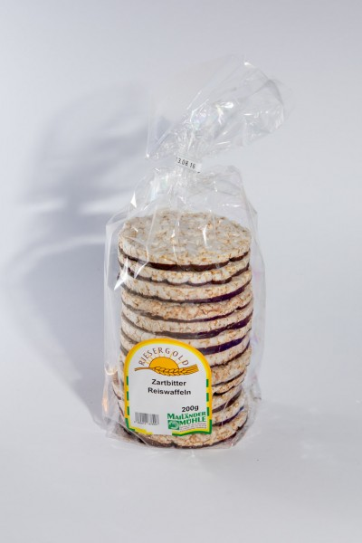 Schoko-Reiswaffeln Zartbitter 200 g