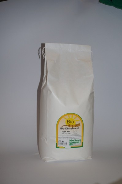 Bio Dinkelmehl Type 630 2,5 kg