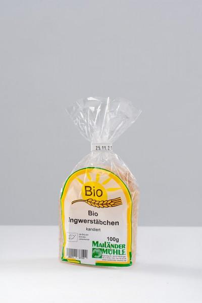 Ingwerstäbchen, kandiert 100 g