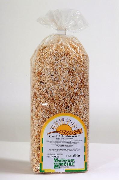 Bio Amaranth-Früchte-Müsli 500 g