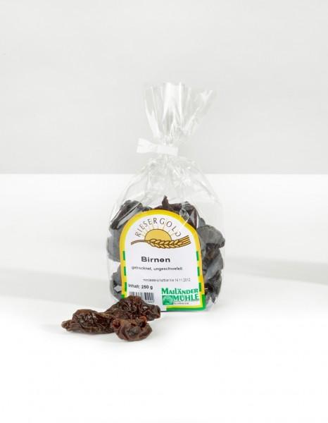 Hutzeln (Birnen), ungeschwefelt 250 g