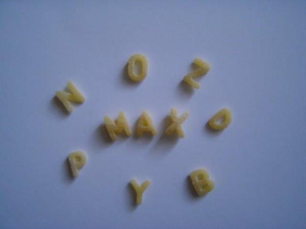 Frisch-Ei-Nudeln - Suppeneinlage Buchstaben 500 g