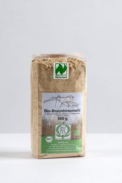 Bio Braunhirse Wildform gemahlen 500g