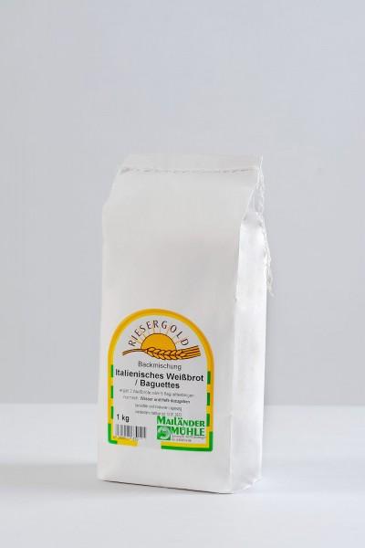 Backmischung ital. Weißbrot oder Baguettes 1 kg