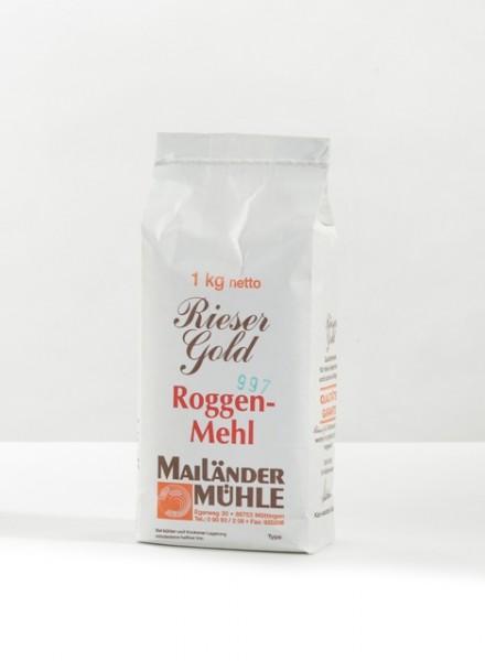 Roggenmehl Type 997 1 kg