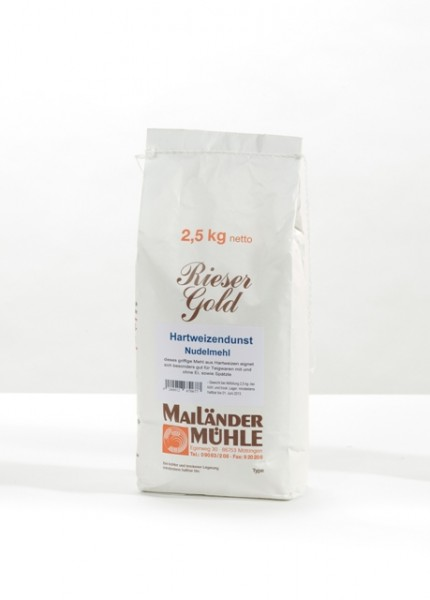 Hartweizendunst / Nudelmehl 2,5 kg