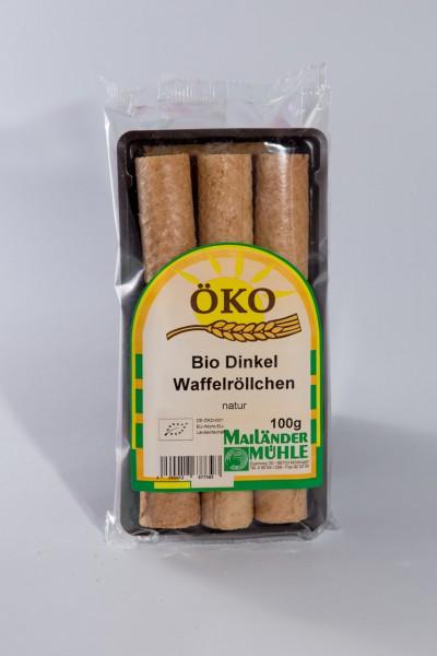 Bio Dinkelwaffelröllchen 100 g
