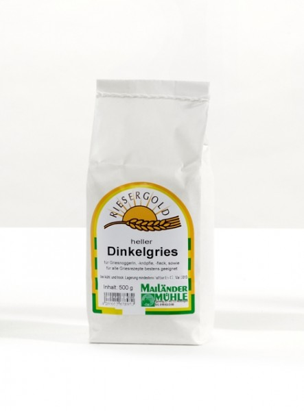 Dinkelgries hell 500 g