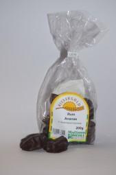 Rum-Ananas in Zartbitterschokolade 200 g
