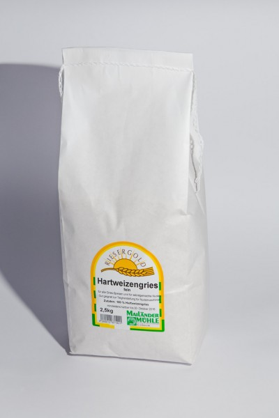 Hartweizengries fein 25 kg