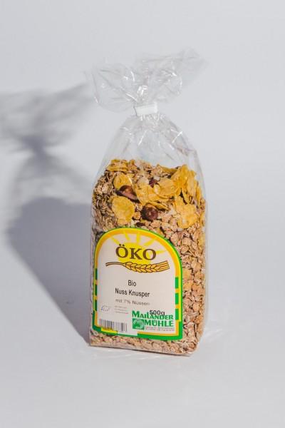 Bio Nuss Knusper Müsli 500 g