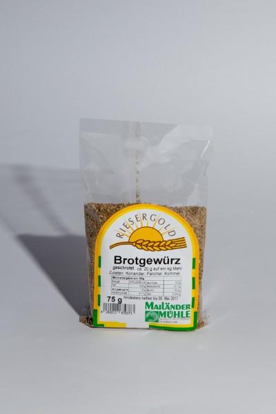 Brotgewürz, geschrotet 75 g