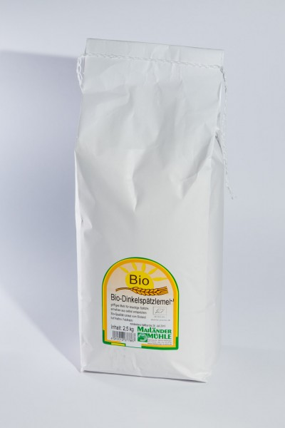 Bio Dinkelspätzlemehl 2,5 kg