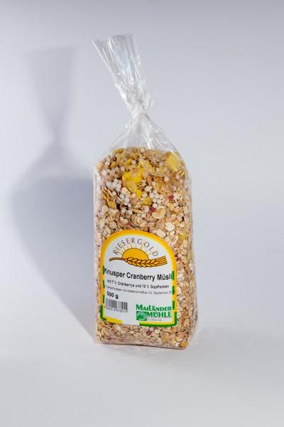 Knusper-Cranberry-Müsli 500 g
