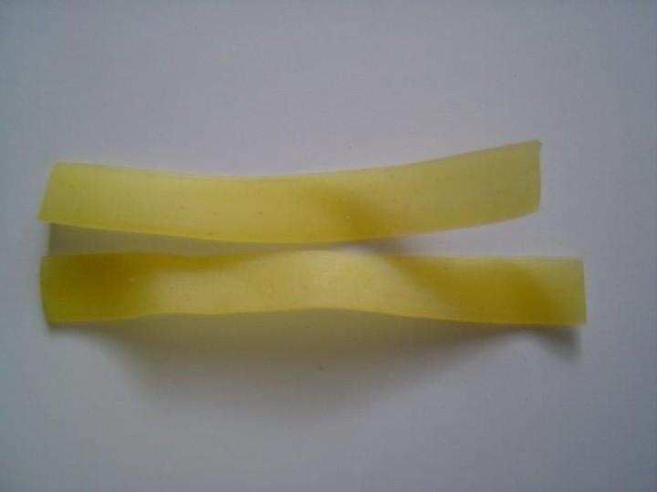Pasta Nudeln (ohne Ei) - Band 8mm 500 g