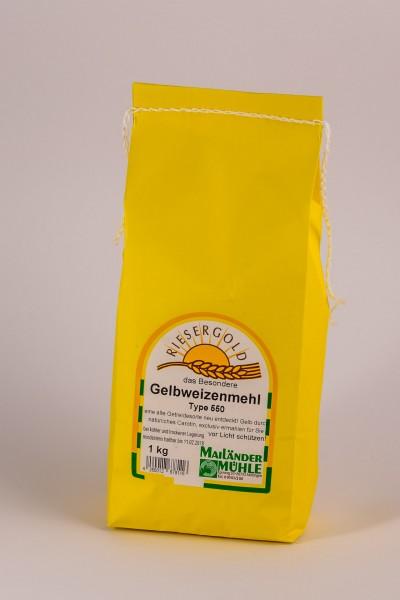 Gelbweizenmehl Type 550 1 kg