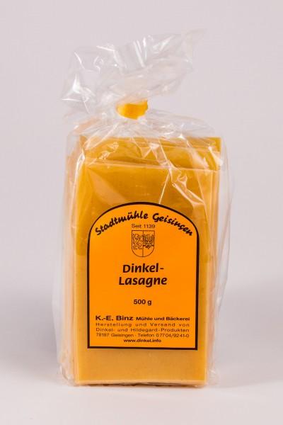 Dinkelnudeln mit Ei - Lasagneblätter 500 g