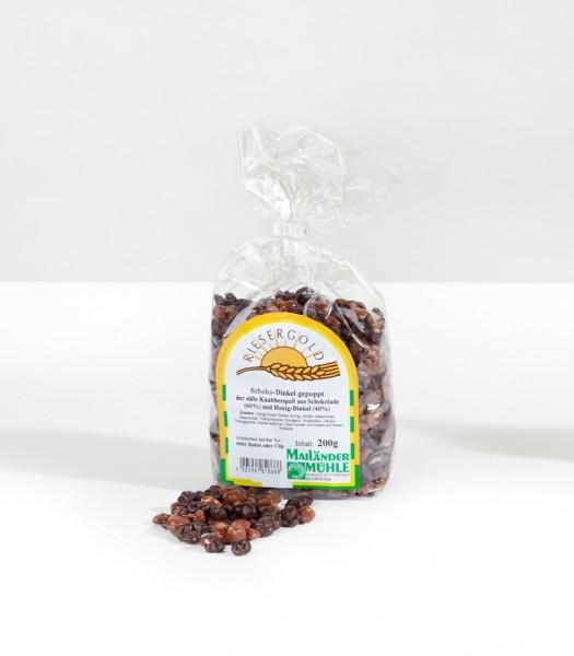 Schoko-Dinkel-Puffies 200 g