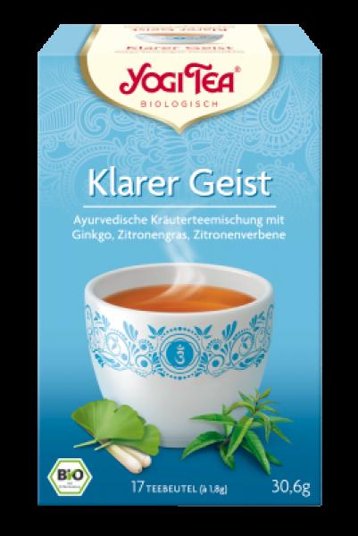 Yogi-Tee Klarer Geist öko Aufgussbeutel 17 Stück